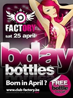 B-day Bottles (flyer)