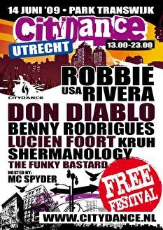 Citydance Utrecht (flyer)
