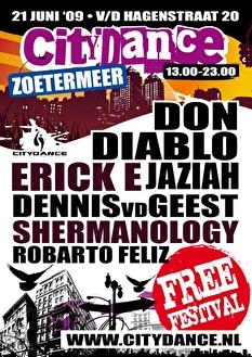 Citydance Zoetermeer (flyer)