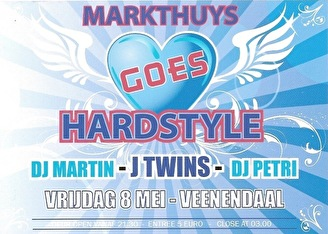 Markthuys goes Hardstyle (flyer)