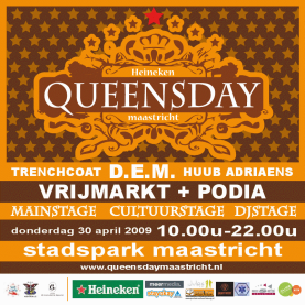 Queensday Maastricht (flyer)