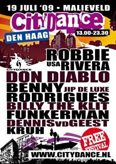 Citydance Den Haag (flyer)