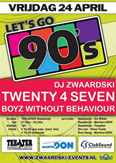 Let's go 90s! (flyer)