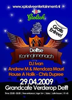 Delftse Koninginnenach (flyer)
