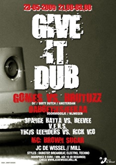 Give it Dub (flyer)