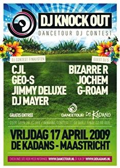 Dancetour Maastricht (flyer)