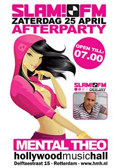 Slam FM! After party (flyer)