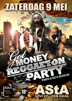 Got money reggaeton party (flyer)