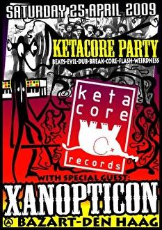 Ketacore Party (flyer)