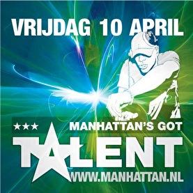 Manhattan's got talent (flyer)