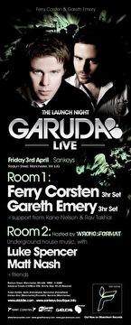 Garuda Live (flyer)