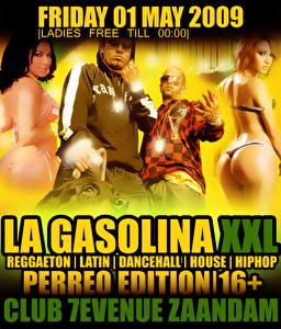 La Gasolina XXL (flyer)