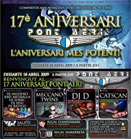 17th anniversary (flyer)