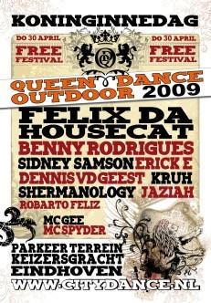 Queendance Outdoor 2009 (flyer)