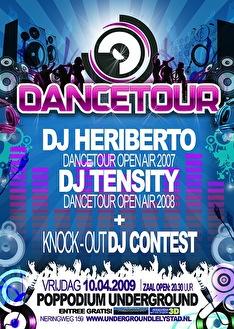 Dancetour 2009 (flyer)