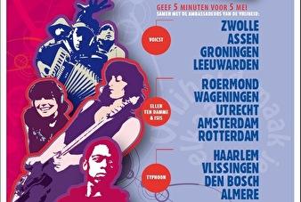 Bevrijdingsfestival Flevoland (flyer)