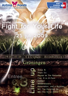 Fight For Your Life (flyer)
