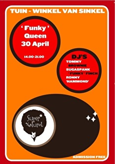 Funky Queens Party (flyer)