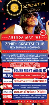 Zenith invites (flyer)