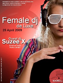 Female DJ Deluxe (flyer)