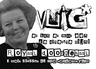 Royaal Doorgehaal (flyer)