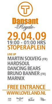 T-Dansant Royale (flyer)