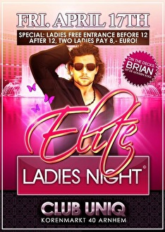 Elite Ladies Night (flyer)