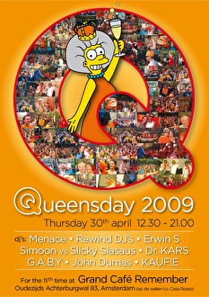 Queensday 2009 (flyer)