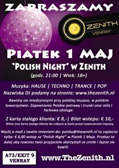 Polish Night (flyer)
