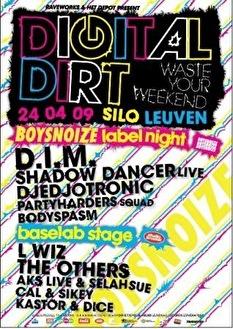 Boys noize labelnight (flyer)