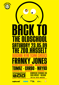 Back to the oldschool (flyer)