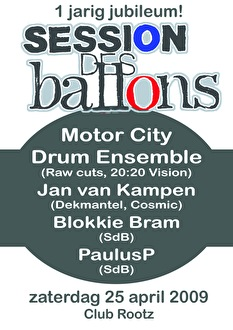 Session des Ballons (flyer)