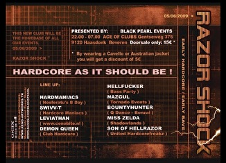 Razor Shock (flyer)
