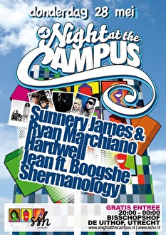 A Night at the Campus (flyer)