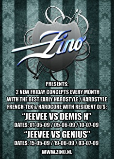 Jeevee vs Genius (flyer)