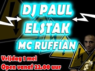 Dj Paul Elstak (flyer)