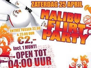 Malibu Flirt Party (flyer)