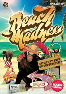 Beach Madness (flyer)