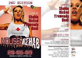 House n Rehab (flyer)
