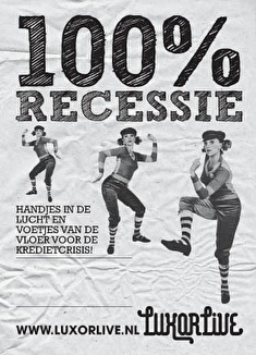100% Recessie Koninginnedageditie (flyer)