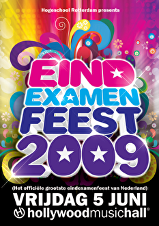 Eindexamenfeest 2009 (flyer)
