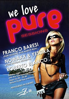 Pure Sessions (flyer)