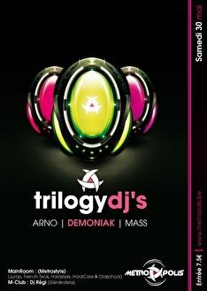 Trilogy dj's (flyer)