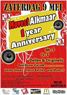 Moves Alkmaar (flyer)