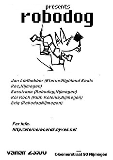 Robodog (flyer)