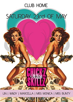 Chickz with skillz (flyer)