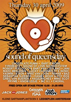 Sound of queensday (flyer)