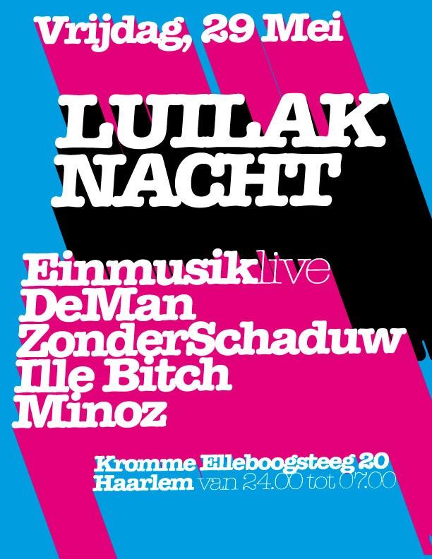 Luilaknacht (flyer)