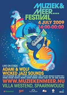 Muziek en Meer Festival (flyer)