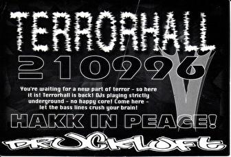 Terrorhall (flyer)